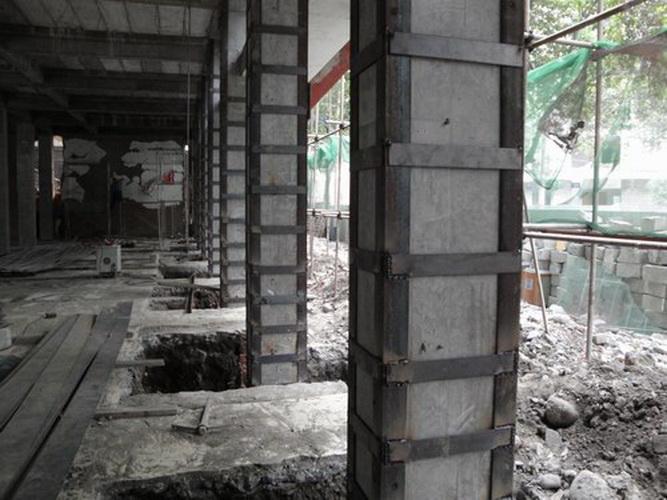 柱包角钢工程