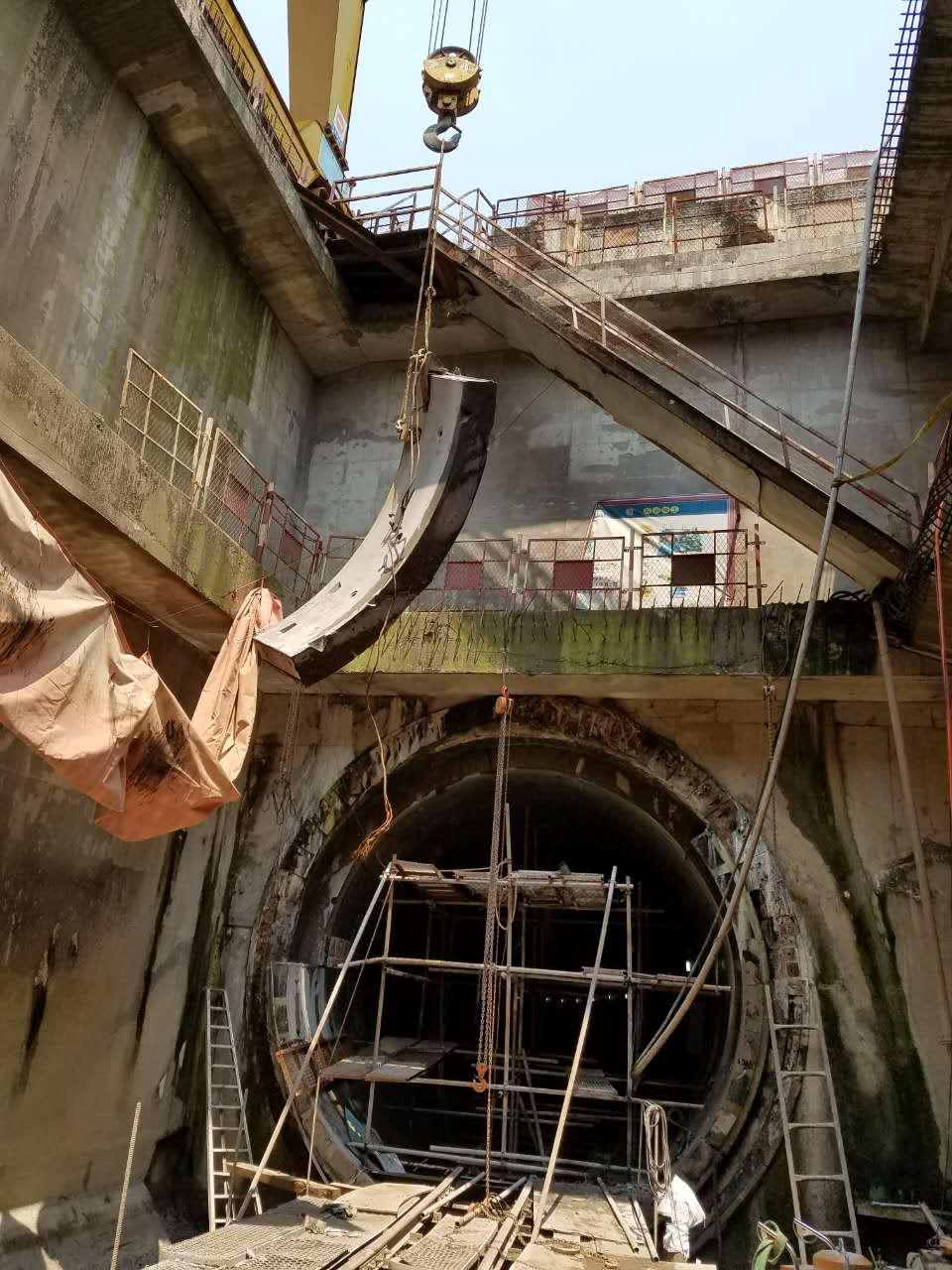 地铁管片切割