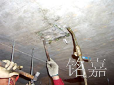 板底裂缝灌浆