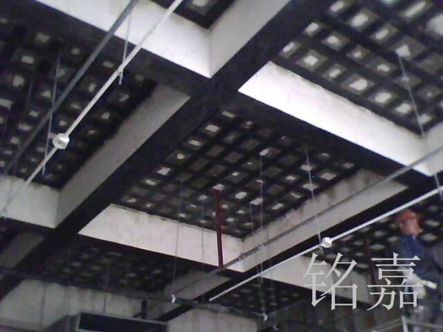 板底粘贴布碳布工程