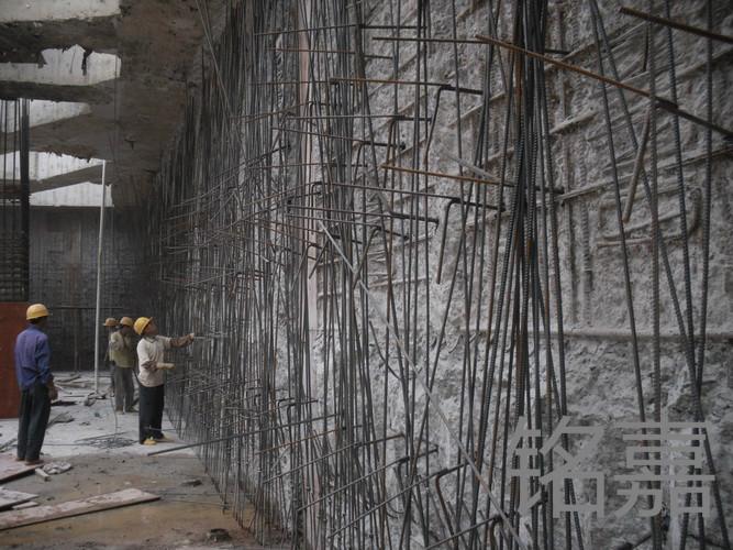 基坑植筋工程
